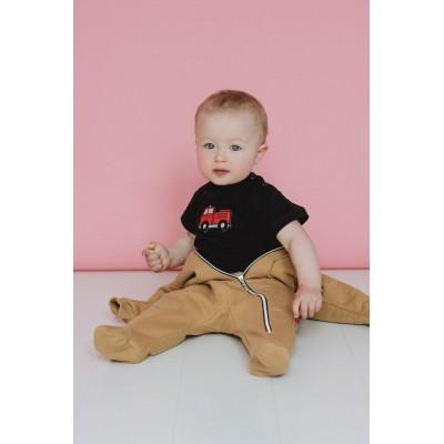 T-shirt z wozem strażackim BABY FIREMAN