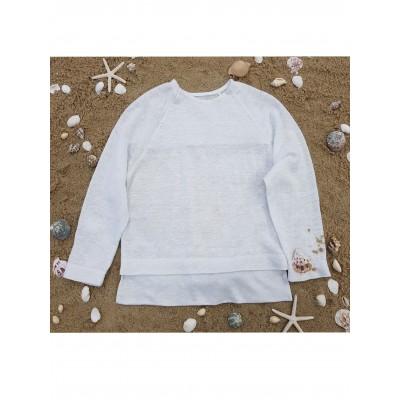 Biała bluza Noel
